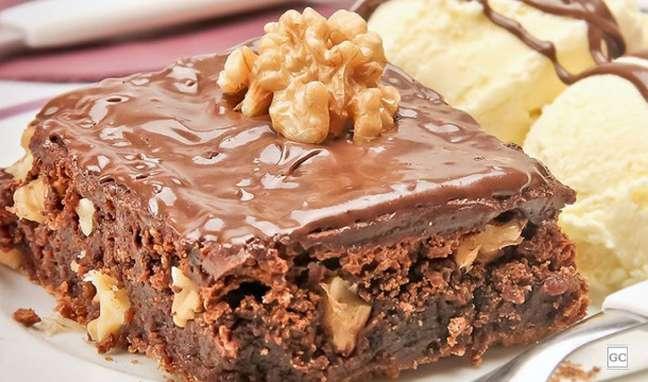 7. Brownie de creme de avelã com nozes: aprenda essa receita deliciosa e que todas as crianças vão amar