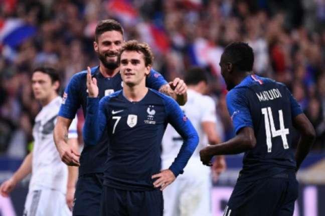 Veja imagens de França x Alemanha