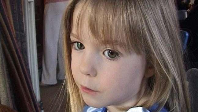 Madeleine McCann tinha três anos quando desapareceu, em 2007
