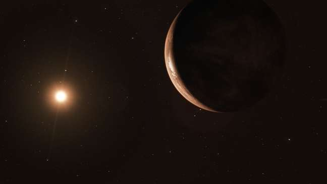 O exoplaneta é o segundo mais próximo da Terra já descoberto