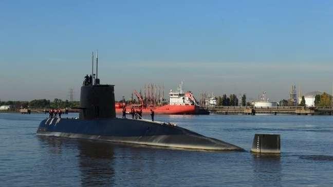 O submarino era o mais moderno da Marinha da Argentina