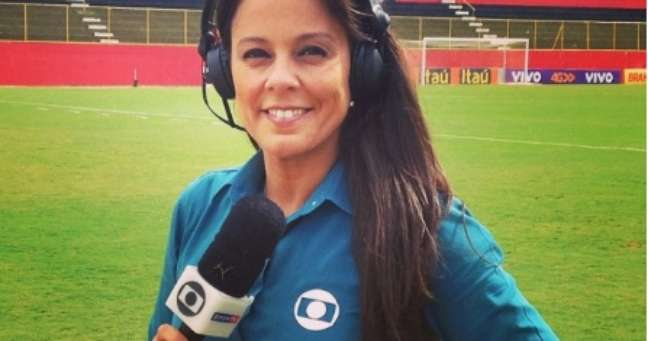 A jornalista Fabiola Andrade viveu momentos de extrema tensão até o esclarecimento do caso