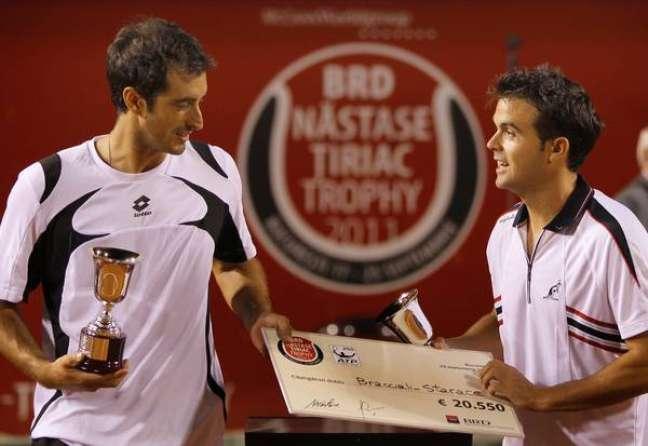 Potito Starace e Daniele Bracciali chegaram a ficar entre os 50 melhores tenistas do mundo