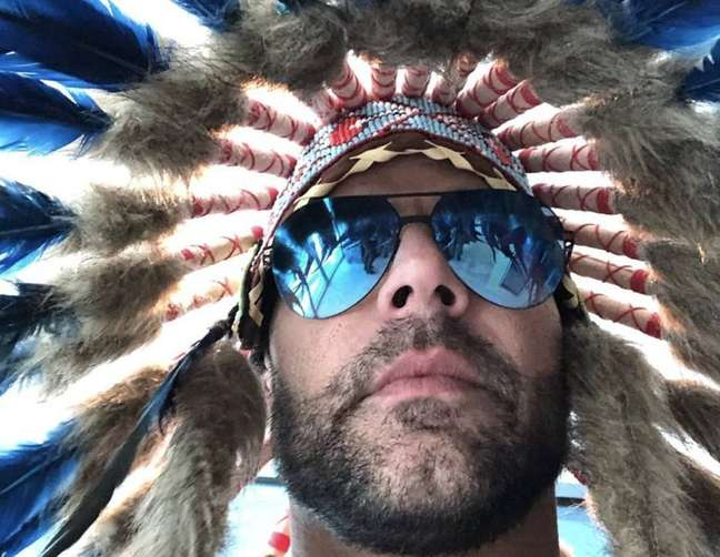 Ricky Martin causou polêmica com foto.