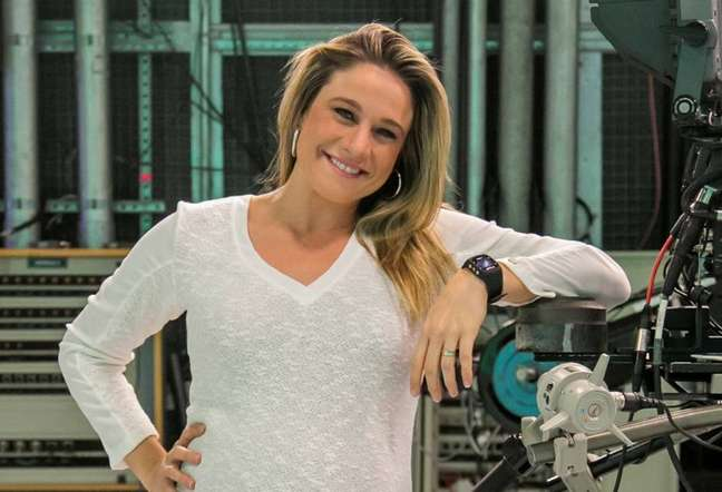 Fernanda Gentil, apresentadora de TV