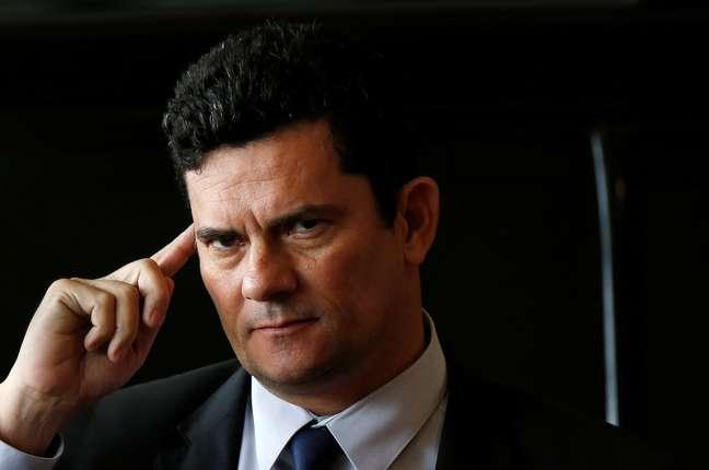 Sérgio Moro em Brasília  4/12/2018   REUTERS/Adriano Machado