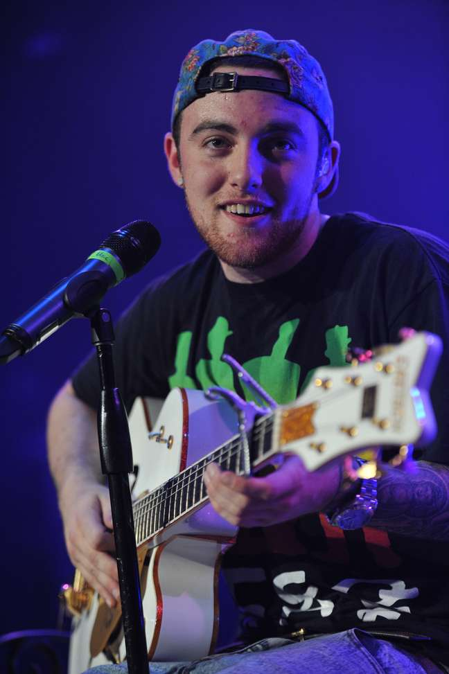 Mac Miller durante show em Chicago, em 2011