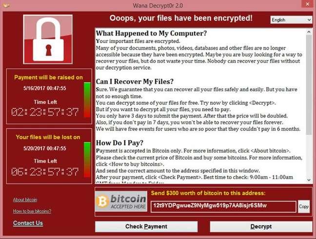 WannaCry, o exploit mais temido