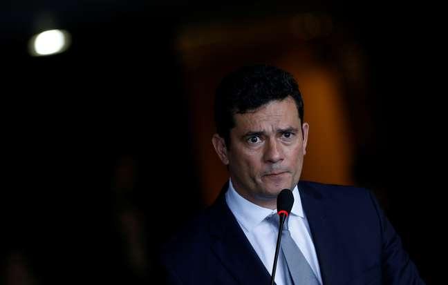 Moro, em cerimônia de transmissão de cargo em Brasília 2/1/2018 REUTERS/Adriano Machado