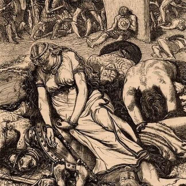 Mesmo após seguidas vitórias, Boudicca perdeu a derradeira batalha para os romanos