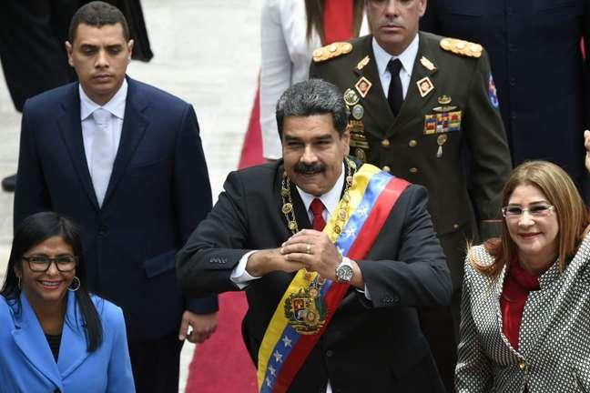Maduro afirmou que as decisões sobre quem governa o país são tomadas pelos venezuelanos