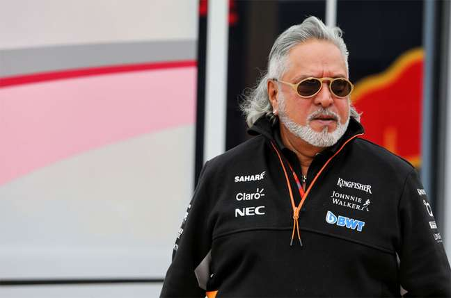 Vijay Mallya, ex-dono da Force India, será extraditado por acusações de fraude