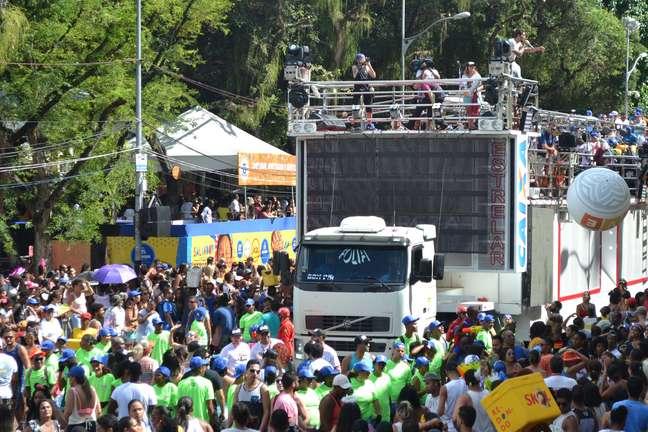 Banda Eva, comandada pelo cantor Felipe Pezzoni, se apresentou no circuito do Carnaval de Salvador (BA) no ano passado