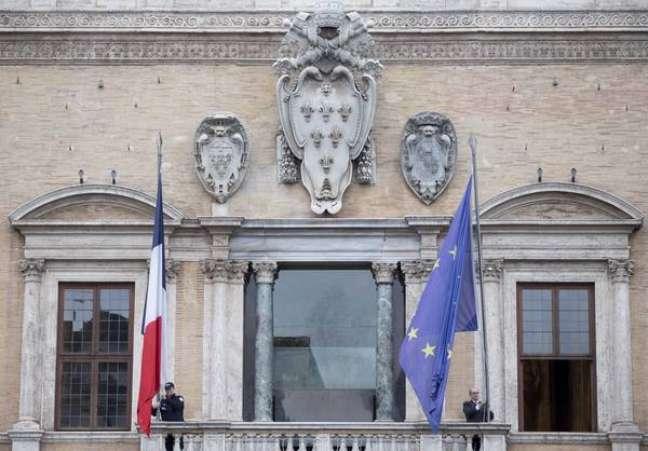 Palácio Farnese, sede da Embaixada da França em Roma