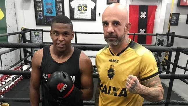Alan Mineiro é fã de boxe (Foto: Divulgação)