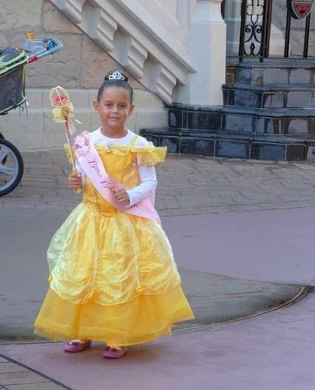 Bibbidi Bobbidi Boo…virei uma princesa!