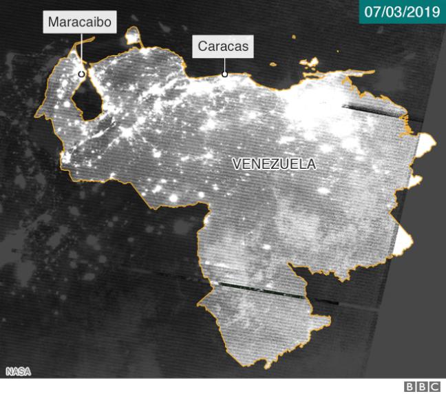 Foto de satélite 7 de março