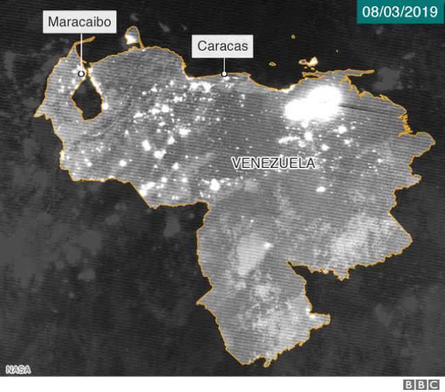 Foto de satélite 8 de março