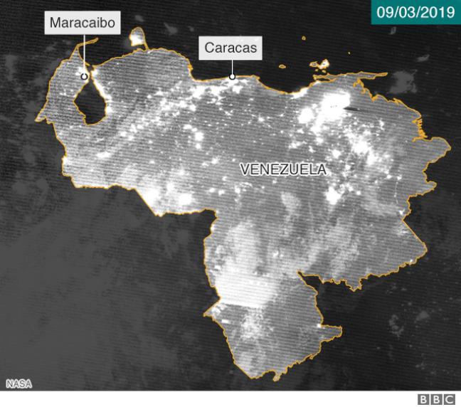 Foto de satélite 9 de março
