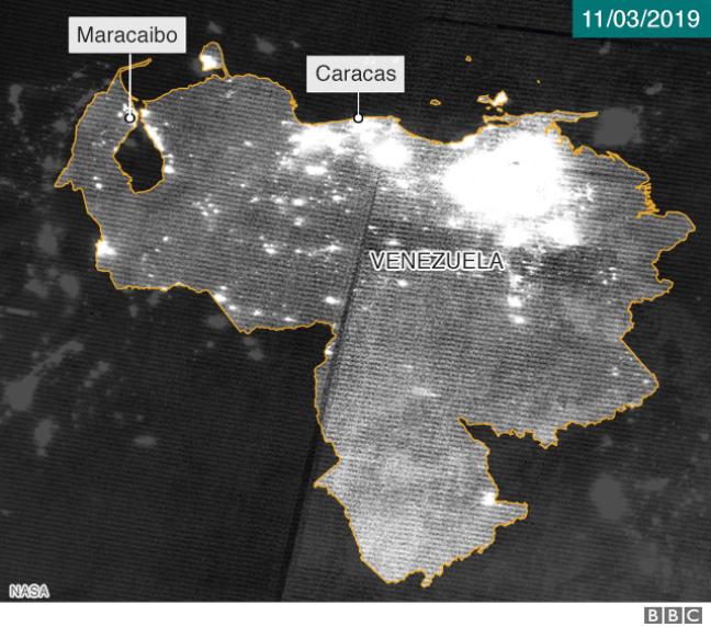 Foto de satélite 11 de março