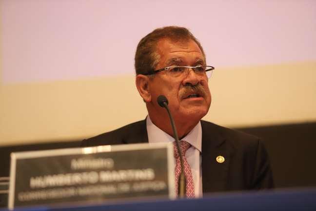 O Ministro Humberto Martins, atual presidente do STJ