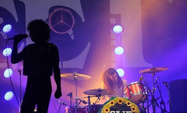 Show da banda Greta Van Fleet no terceiro dia do festival Lollapalooza