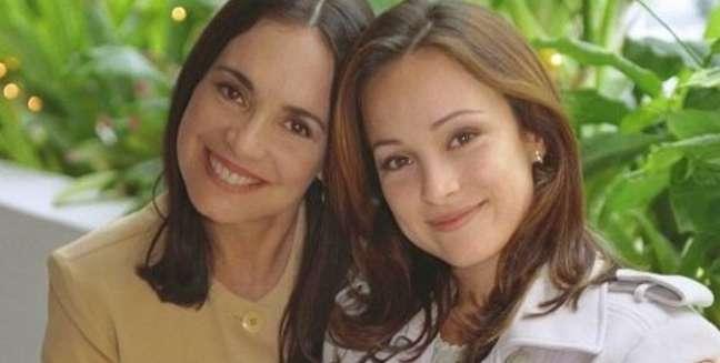 Helena (Regina Duarte) e Maria Eduarda (Gabriela Duarte): o amor levado às últimas consequências
