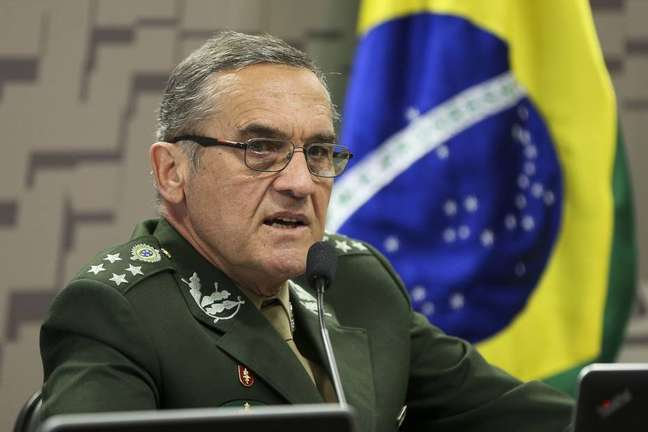 O comandante do Exército, general Eduardo Dias da Costa Villas Bôas.