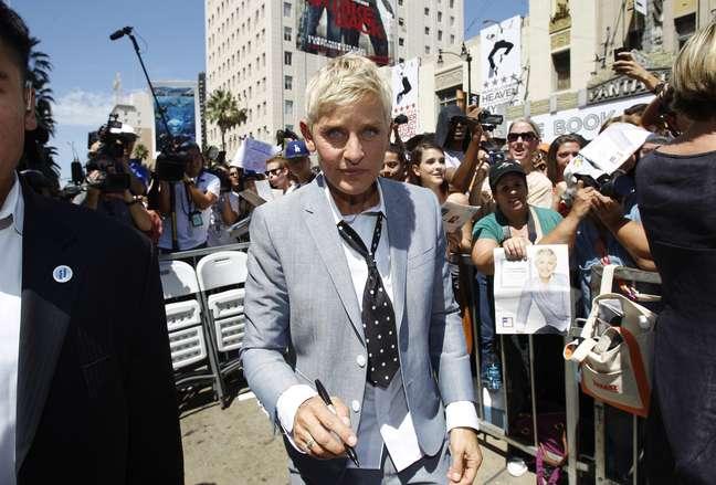 Apresentadora Ellen DeGeneres