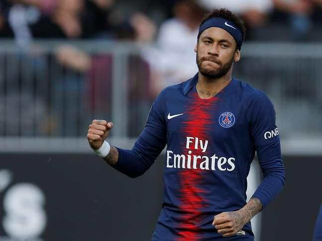 Neymar em jogo pelo Paris Saint Germain