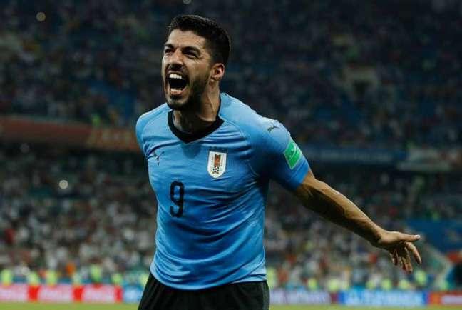 Suárez vem ao Brasil para a disputa da Copa América (Foto: ODD ANDERSEN / AFP)