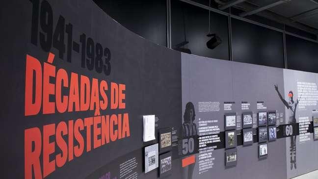 Exposição no Museu do Futebol mostra a evolução do esporte no país