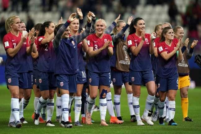 Noruega venceu a Nigéria pela Copa do Mundo Feminina (Foto: LIONEL BONAVENTURE/AFP)