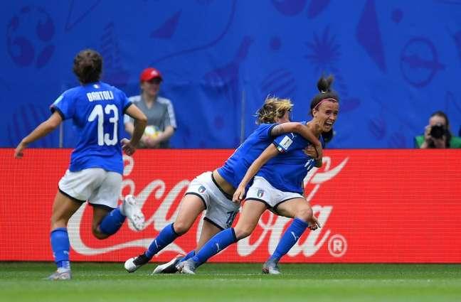 Bonansea defende a Juventus (Foto: Reprodução)