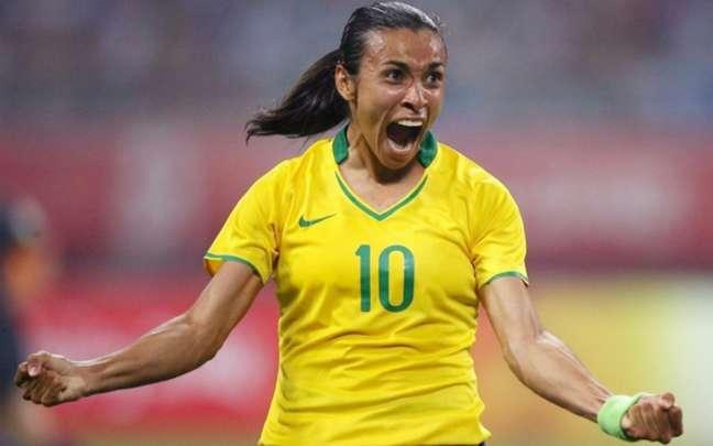 Marta foi confirmada pelo técnico Vadão para a partida contra a Austrália (Foto:Divulgação)