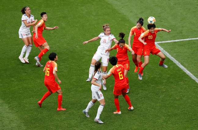 China e Espanha ficaram no 0 x 0  17/06/2019 REUTERS/Bernadett Szabo