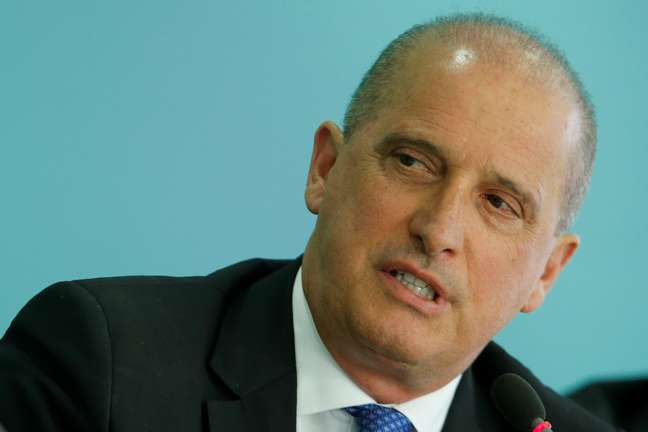 Ministro Onyx Lorenzoni 16/04/2019 REUTERS/Adriano Machado