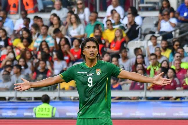 Marcelo Moreno ,jogador do Bolivia,partida válida pelo 3º rodada do grupo A da Copa da América 2019,no estádio do Mineirão, em Belo Horizonte