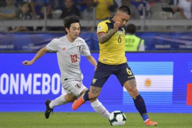 Equador x Japão: confira as imagens da partida