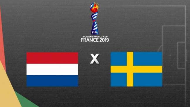 Holanda e Suécia duelam por vaga na final da Copa da França, nesta quarta (Foto: Arte/Lance!)