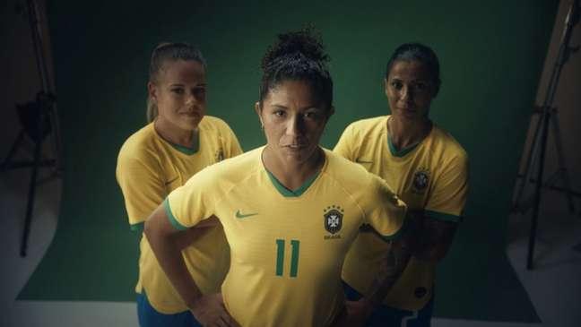 Seleção brasileira feminina teve muito destaque (Foto: Divulgação)