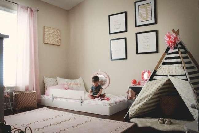 6. A cama montessoriana pode ser adaptada de acordo com as suas preocupações