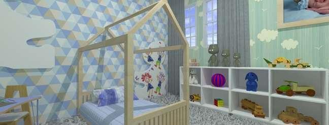 23. Os brinquedos ficam ao alcance da criança no projeto de Aline Oliveira