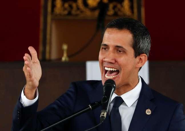 Líder da oposição da Venezuela Juan Guaidó 23/07/2019 REUTERS/Carlos Garcia Rawlins