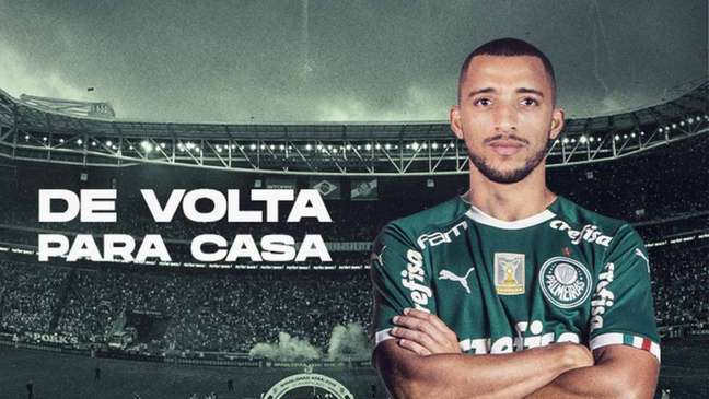 Vitor Hugo já trabalhou com o elenco nesta segunda-feira e foi anunciado como reforço nesta noite (Divulgação)