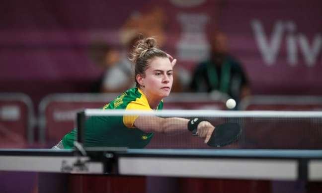 Mesmo com a derrota, brasileira conquistou sua terceira medalha em Lima. (Foto: Divulgação)