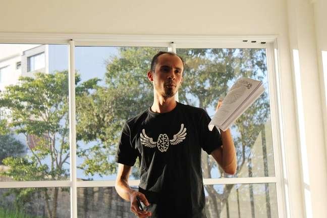 Emerson Ferreira, fundador e idealizador da ONG Reflexões da Liberdade
