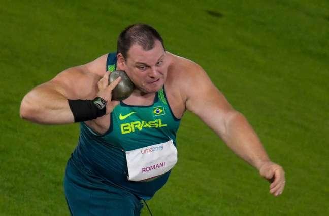 Darlan Romani conquista o ouro no arremesso de peso (Washington Alves/COB)
