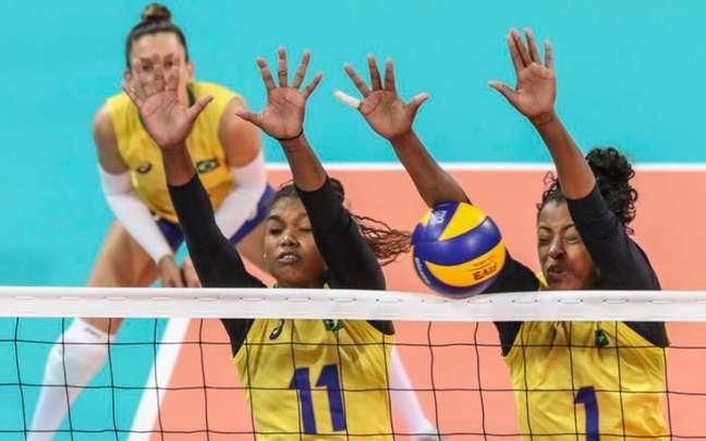 Brasil misto não conseguiu vencer a Argentina, que foi para Lima com força máxima (Foto: Reprodução)