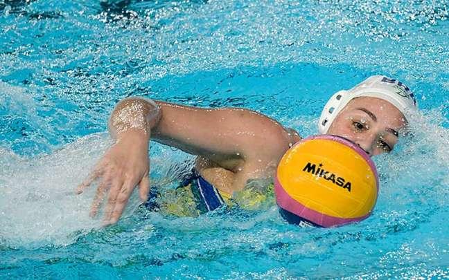 Brasil ficou com o bronze no polo aquático feminino (Foto:Washington Alves/COB)